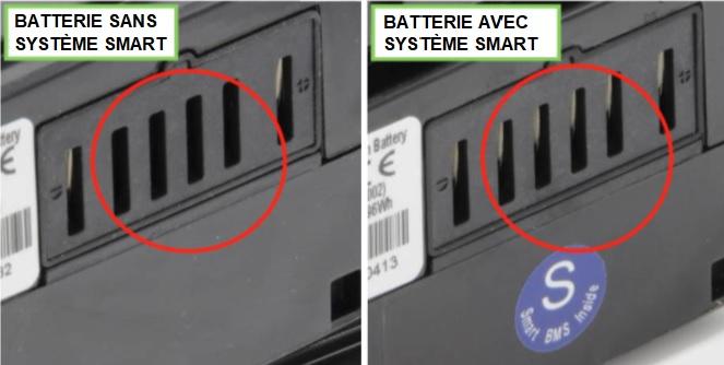Batterie avec ou sans système SMART